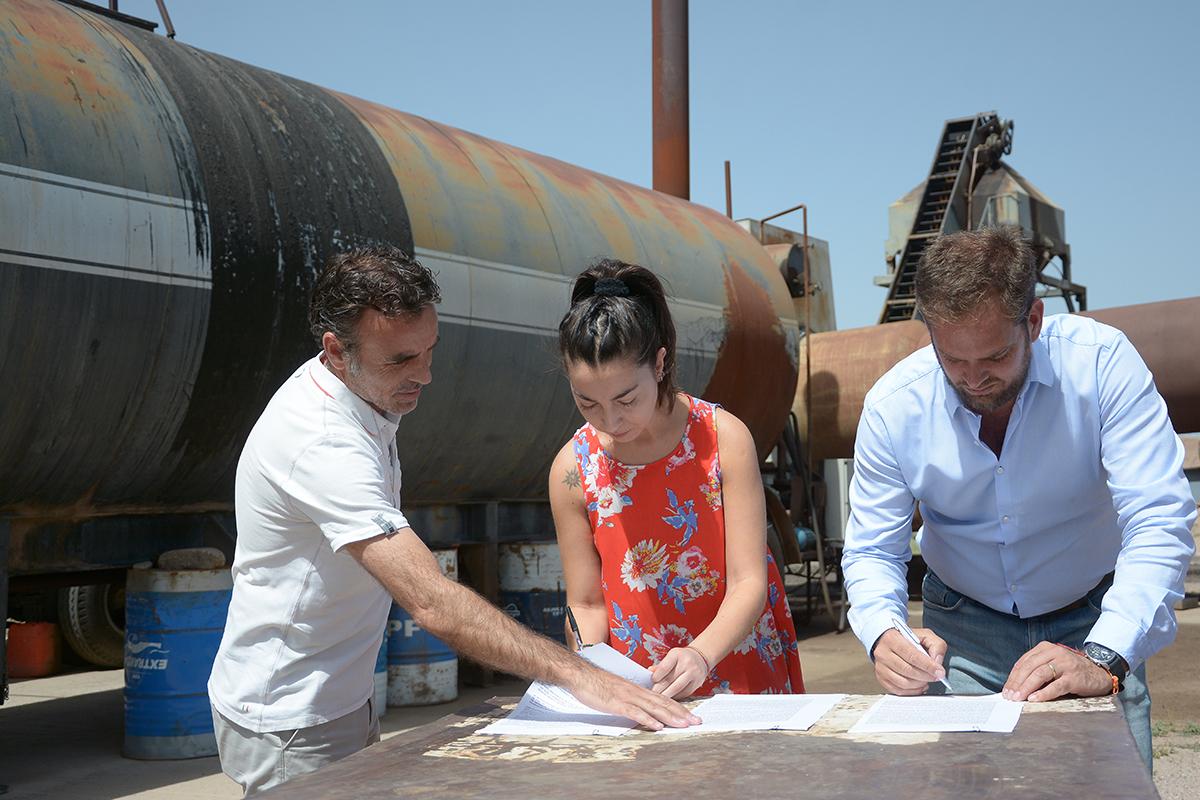 La planta de asfalto de Vialidad Provincial pasará a funcionar con energía eléctrica