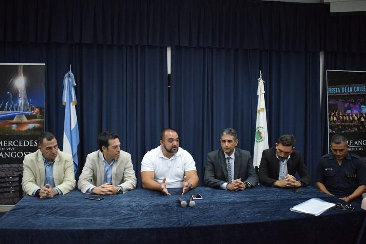 El intendente Frontera coordinó una reunión multisectorial para trabajar en seguridad vial
