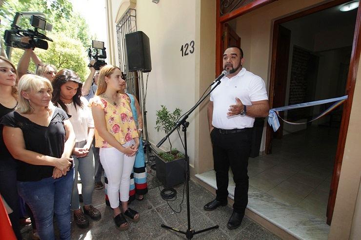 Maximiliano Frontera inauguró las oficinas de la Secretaría de la Mujer