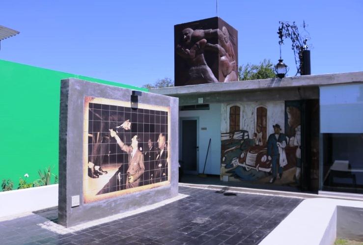 Durante el verano también abre sus puertas el museo Mono Gatica