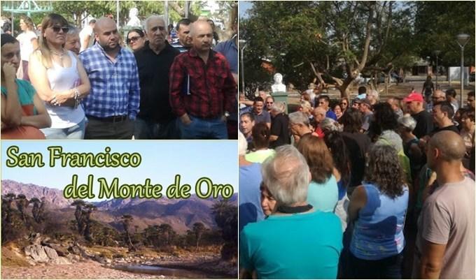 San Francisco: Los vecinos se movilizaron por la falta de agua