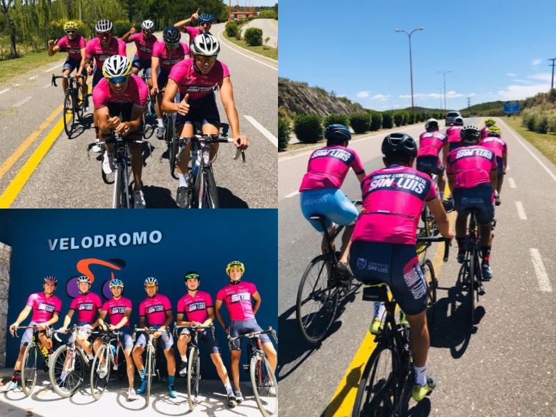 """El equipo Continental San Luis estará presente en el """"Giro del Sol"""" en San Juan"""