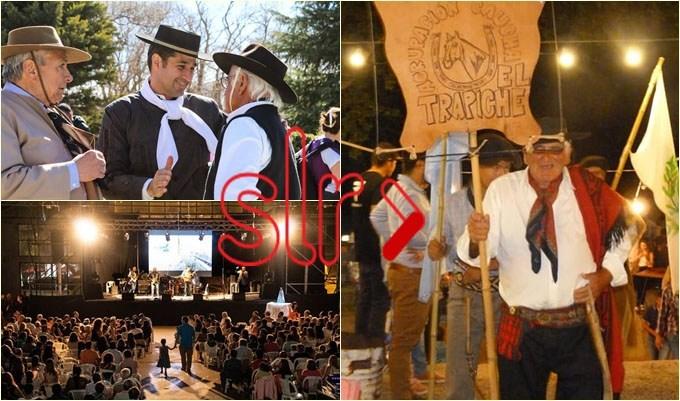 Un fin de semana emocionante se vivió en El Trapiche por el  Festival Provincial de los Ríos