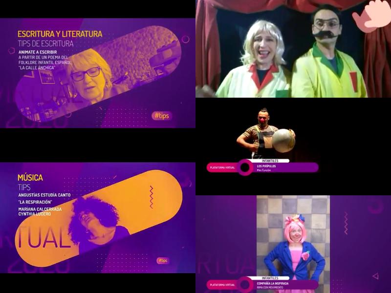 """La """"Plataforma Virtual, Cultural y de Formación Artística"""" actualiza sus contenidos digitales"""