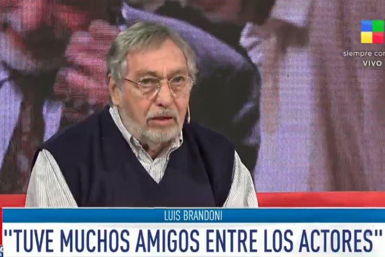 """Luis Brandoni: """"Perdí a muchos amigos de la vida por la grieta"""""""