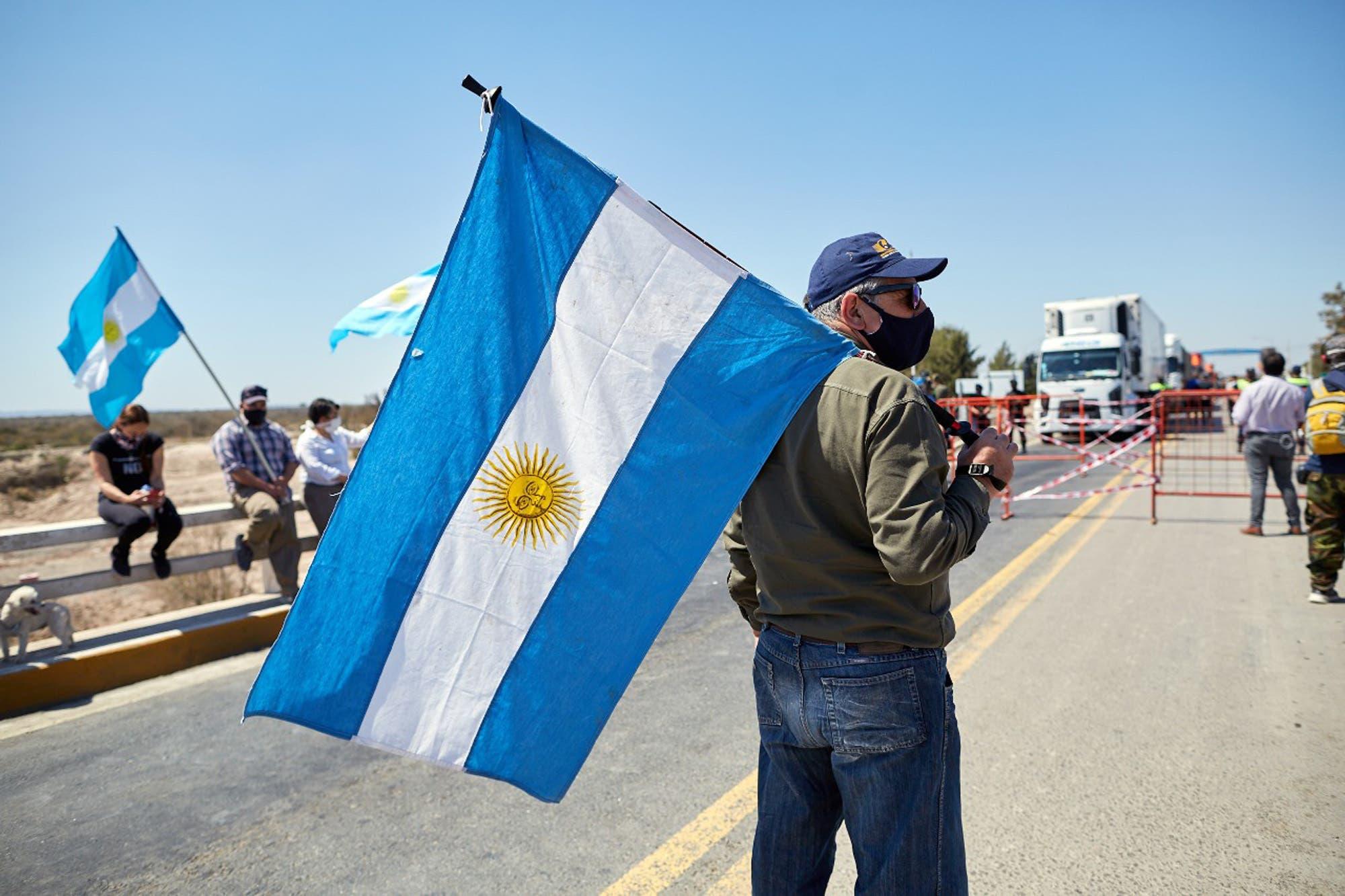 """Siguen los cortes de ruta contra San Luis y Rodríguez Saá respondió: """"No nos van a torcer el brazo"""""""