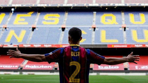 Sergiño Dest, la apuesta del Barcelona de Messi que quiere convertirlo en el nuevo Dani Alves