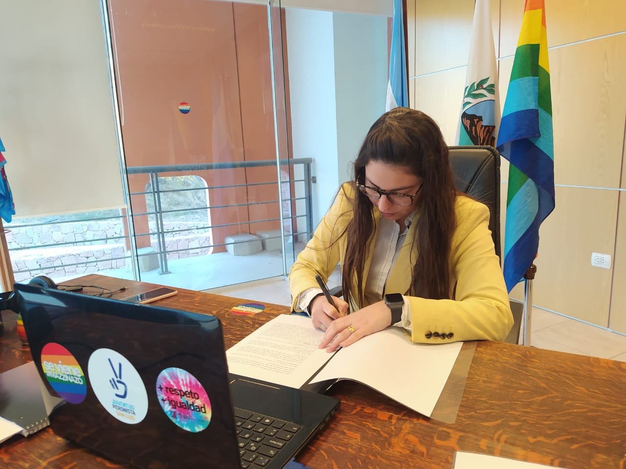 """Se firmó un convenio marco de cooperación con """"Luz y Fuerza"""""""