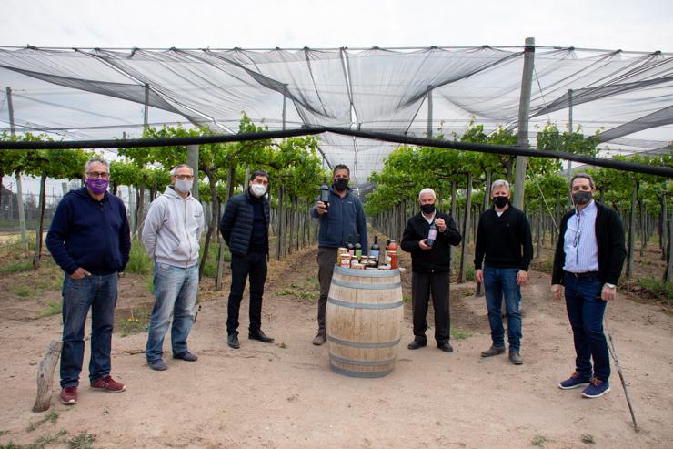 Autoridades de la Cámara de Comercio de San Luis y de la Federación Argentina de Almaceneros visitaron Sol Puntano