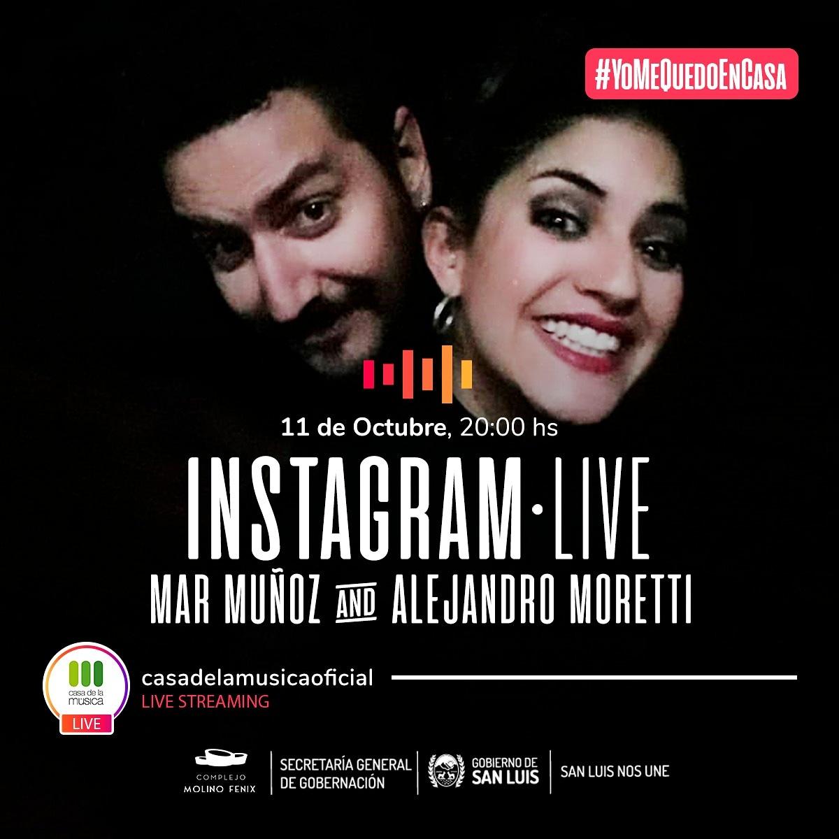 Continúan los Instagram Live de Casa de la Música