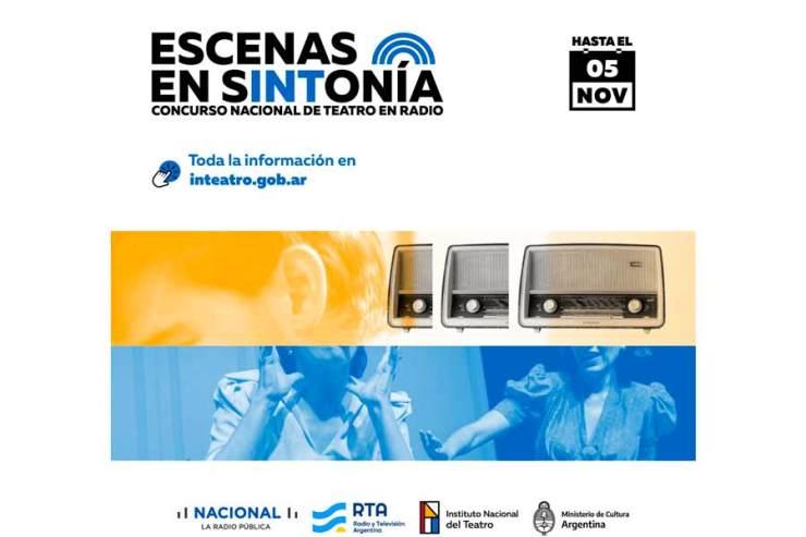"""""""Escenas en Sintonía"""": concurso nacional de teatro en radio"""