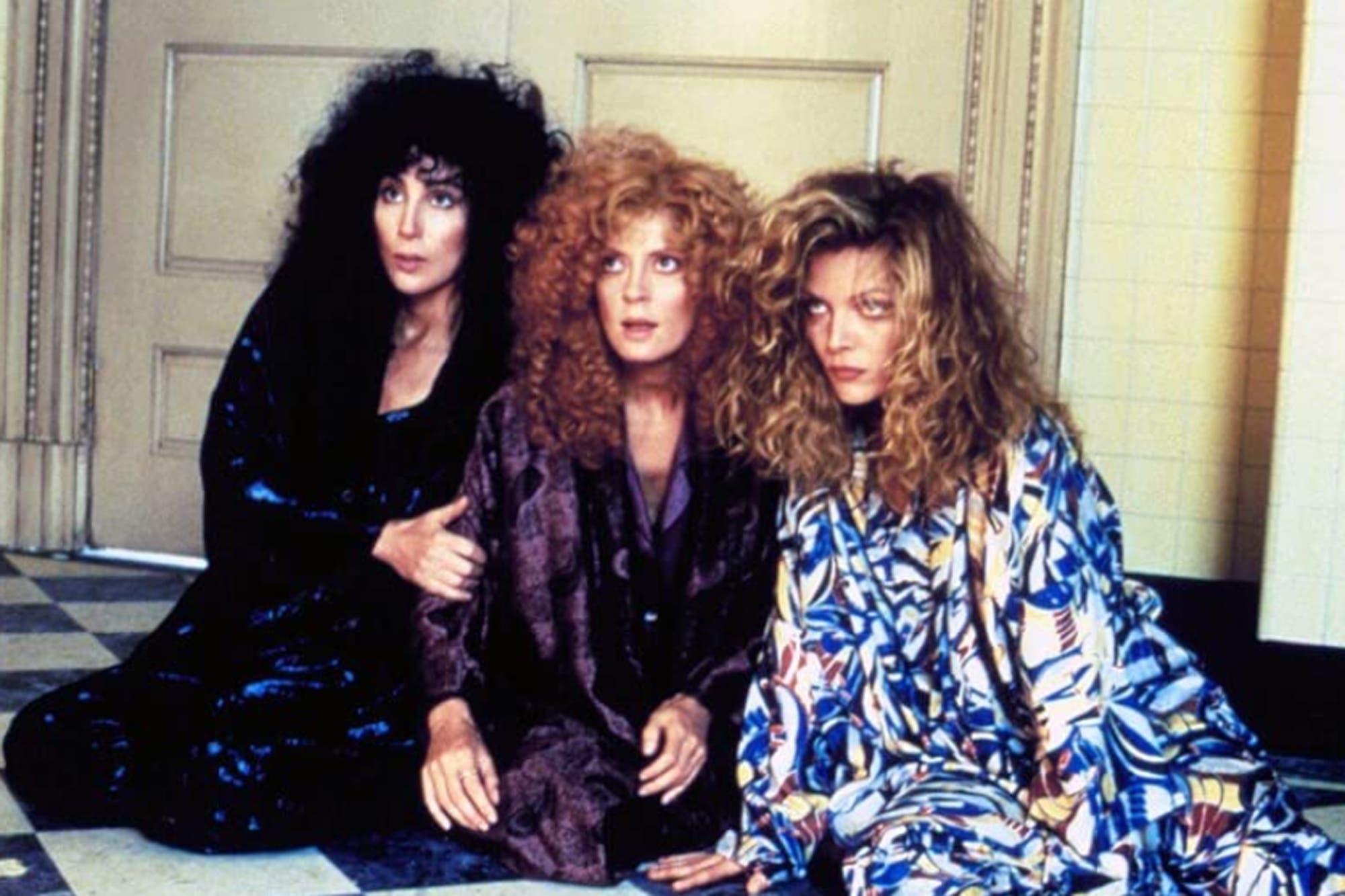 Susan Sarandon, entre el rol que le robó Cher y el difícil rodaje Las brujas de Eastwick