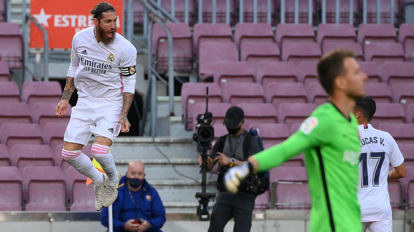Real Madrid se lució en el Camp Nou y derrotó al Barcelona en el clásico de España