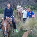 Bomberos rescataron a una mujer en las sierras de Potrero de los Funes