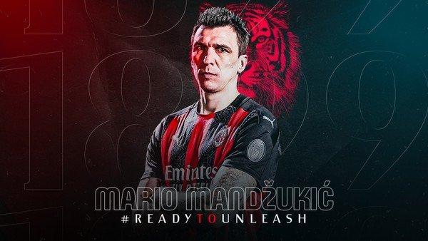 La historia detrás de los goles de Mandzukic, el nuevo compañero de Ibrahimovic en el Milan
