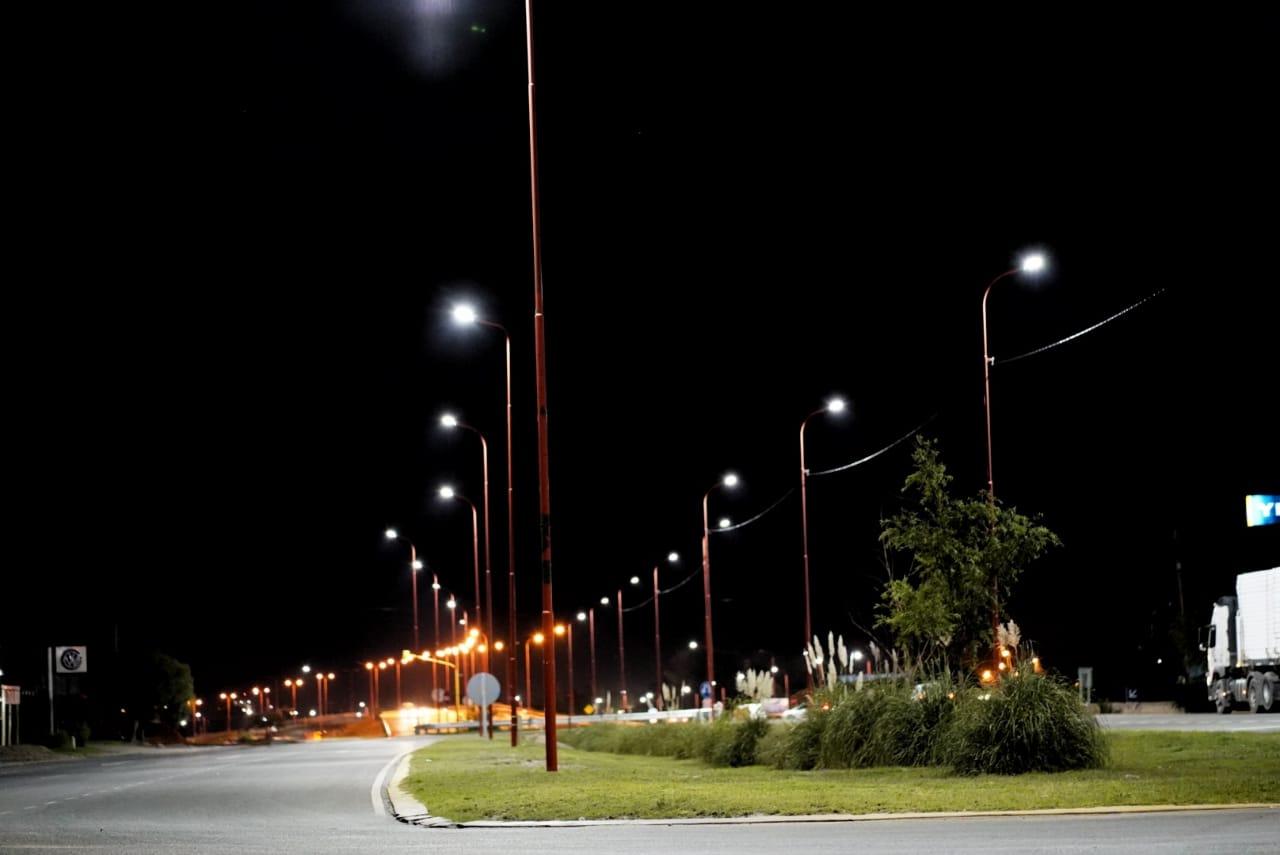 El Gobierno provincial ejecuta un plan de eficiencia energética con tecnología LED