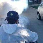 La Municipalidad continúa con la fumigación contra el dengue en la ciudad de San Luis