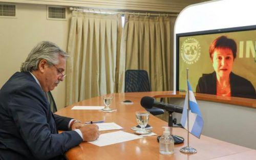 """Kristalina Georgieva: """"Discutimos las acciones para combatir la crisis económica y de salud"""""""