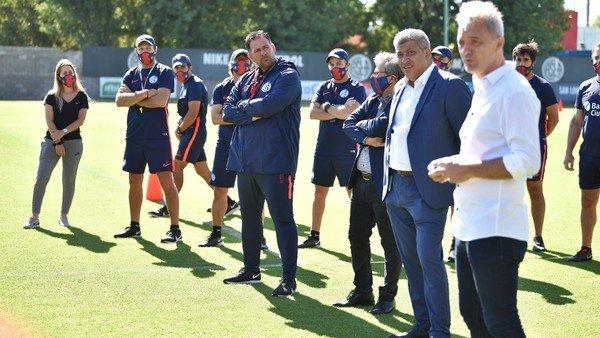 San Lorenzo: qué les dijo Diego Dabove a los jugadores en su primer discurso  al frente del plantel