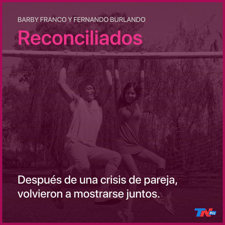 Barby Franco y Fernando Burlando, reconciliados: filtraron un video de ellos juntos en Cariló