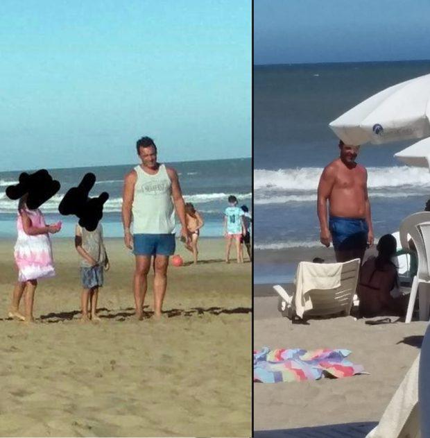 Tamayo de vacaciones en Cariló mientras San Luis está colapsada