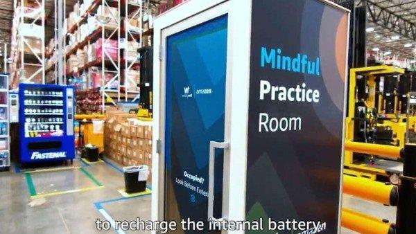 """amazon-instala-""""cabinas-de-mindfulness""""-para-empleados-estresados-en-sus-centros-logisticos"""