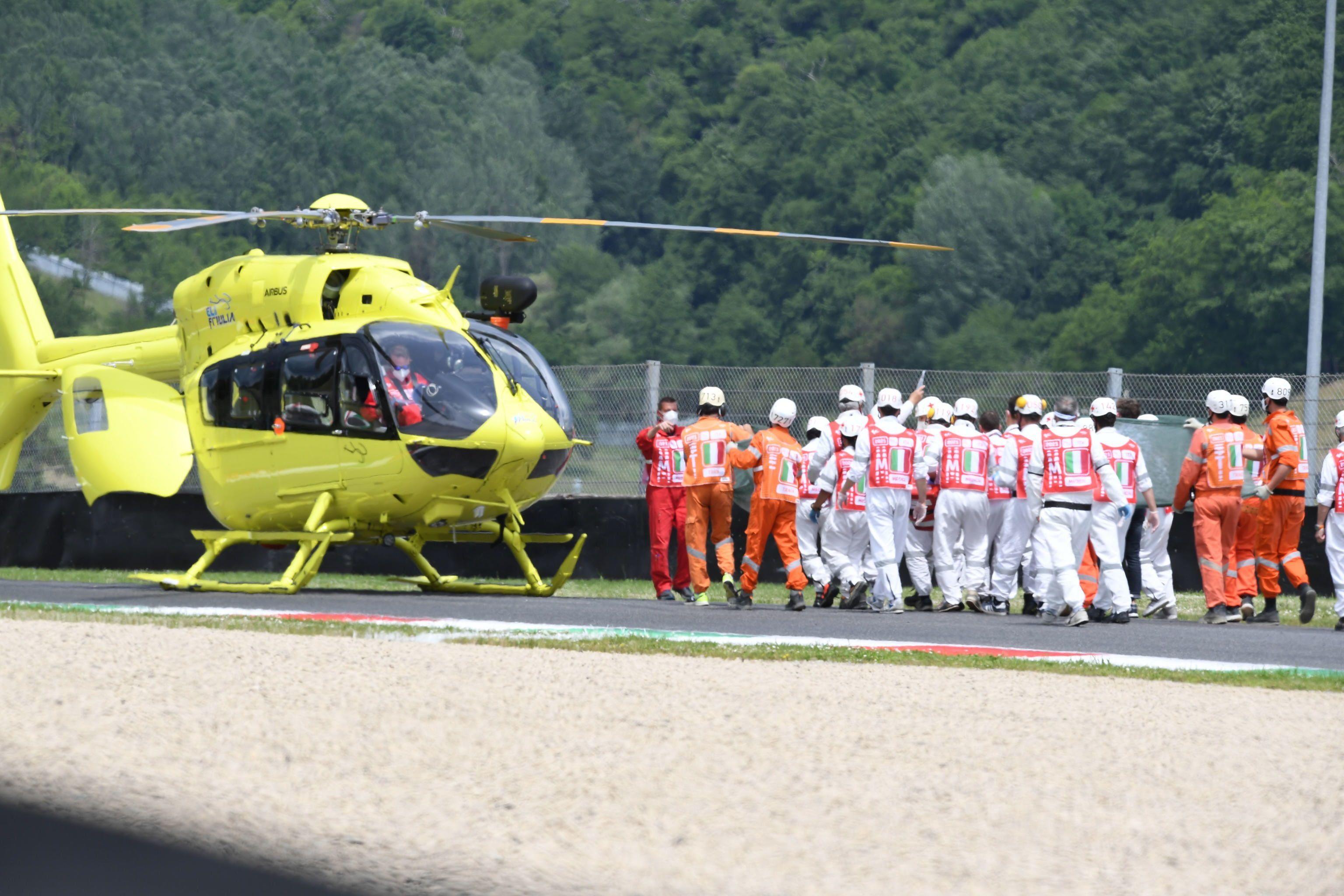 conmocion-en-el-moto3:-murio-jason-dupasquier,-el-piloto-que-se-habia-accidentado-en-el-gran-premio-de-italia
