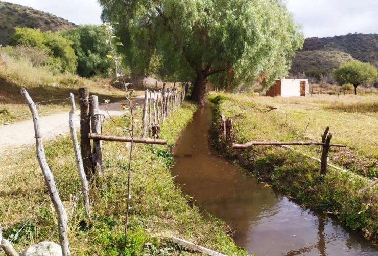 san-luis-agua-refuncionalizo-un-canal-de-riego-en-san-francisco