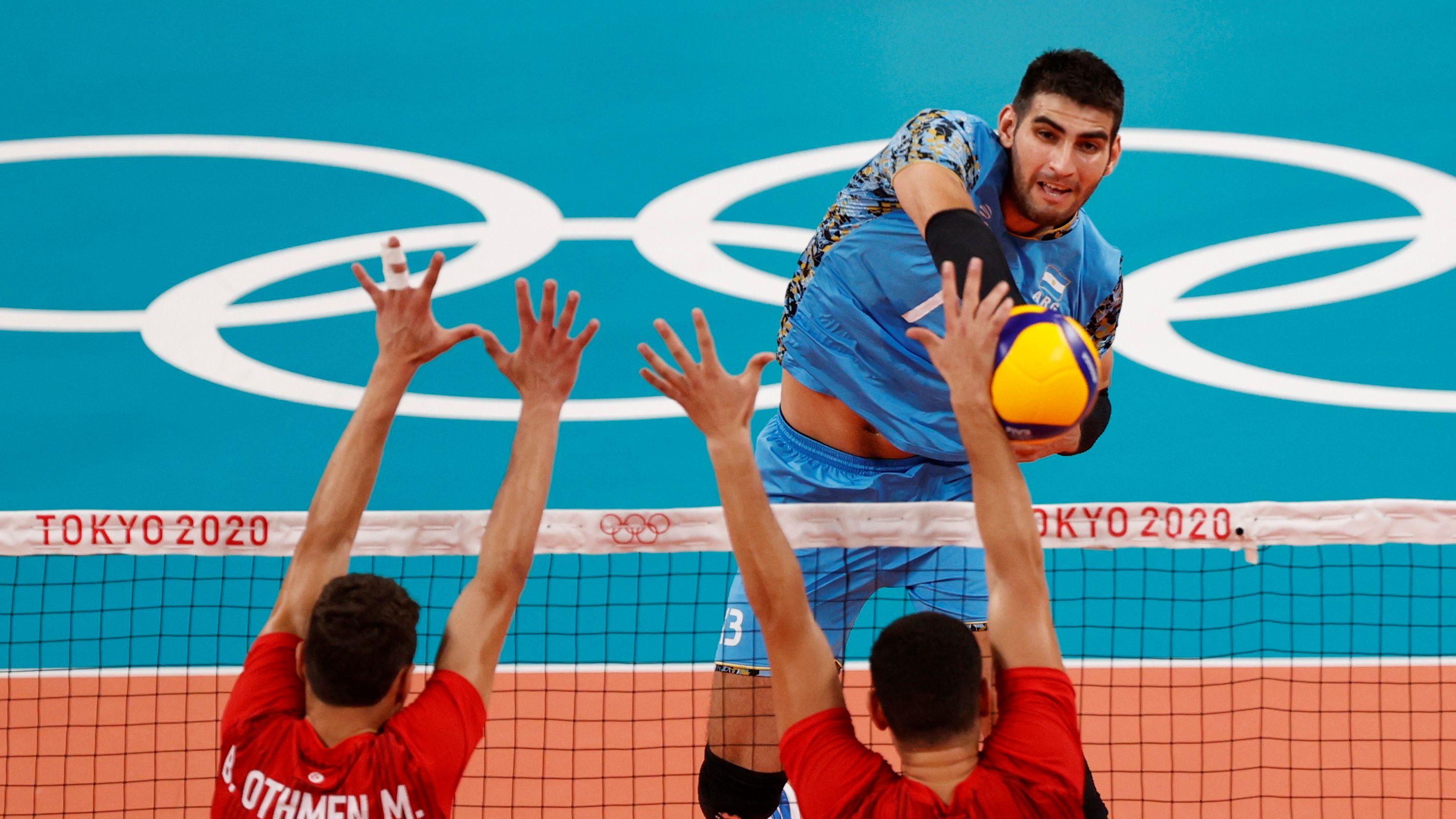 en-vivo-|-el-seleccionado-argentino-de-voley-enfrenta-a-tunez-en-un-partido-determinante